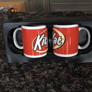 2 KIT-KAT COFFEE MUG NWOT